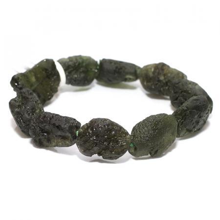 Moldavite Bracelets - CRYSTALE|Natural Crystal Shop